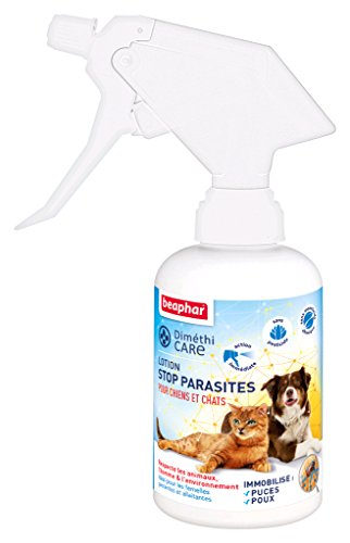 Beaphar DimetiCARE - Loción parásitos para Perro y Gato, 250 ml