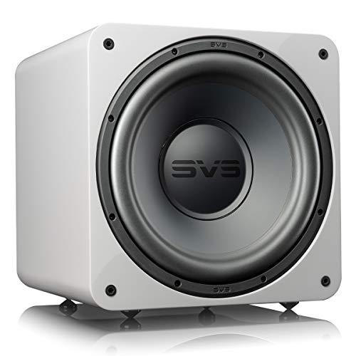 SVS SB-1000 Pro Subwoofer, versiegelt, 30,5 cm, Weiß glänzend
