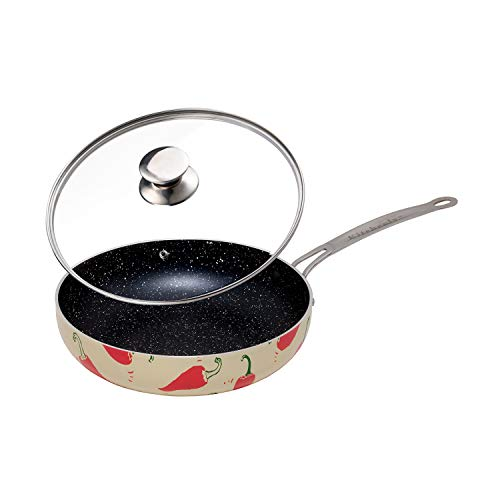 Decorative Non Stick Frying Pans Wok - Deep Skillets Induction.
