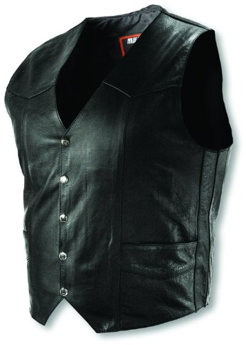 Interstate Leather Men's Basic Vest (XX-Large)
