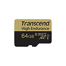 Best SD Card for Dash Cam - Transcend TS64GUSDXC10V High Endurance 64GB