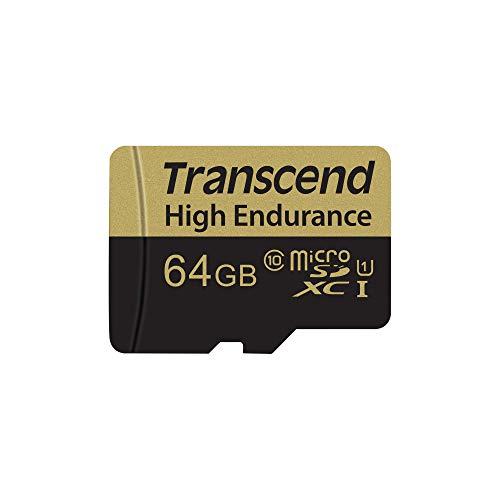 Oferta de Transcend 64GB microSDXC Memoria Flash Clase 10 MLC - Tarjeta de Memoria (64 GB, MicroSDXC, Clase 10, MLC, 21 MB/s, Negro, Plata)