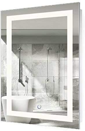 Krugg LED Bathroom Mirror 24 Inch X 36 Inch | Lighted Vanity Mirror...