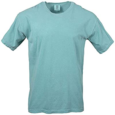 Comfort Colors Men's Adult Short Sleeve Tee, Style 1717, Seafoam, Small by Comfort Colors