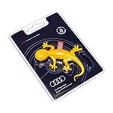 Audi 000087009C - Deodorante per Ambiente Originale a Forma di Geco, Colore: Giallo