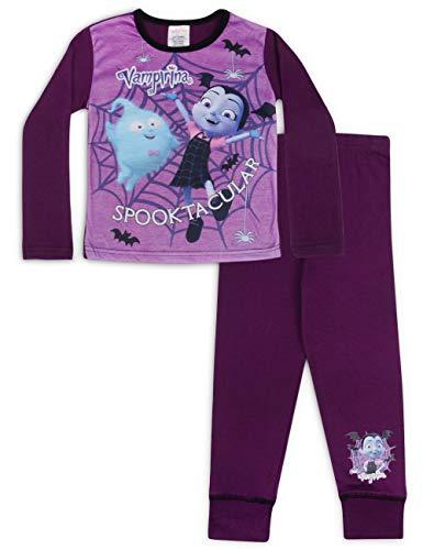 Vampirina - Pijama para niñas de 2 a 8 años (morado -