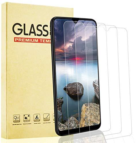 Lixuve 3 Unidades Protector de Pantalla para Samsung Galaxy A20e Cristal Templado, [Sin Burbujas] [9H Dureza] [Instalación Fácil] Vidrio Templado Película Protectora