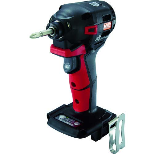 マックス(MAX) MAX 充電式ブラシレスインパクトドライバ(赤)本体のみ PJ-ID152R (PJ91180)