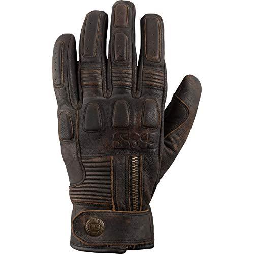 IXS Motorradhandschuhe kurz Motorrad Handschuh Kelvin Handschuh antik braun XL, Herren, Lifestyle, Ganzjährig, Leder