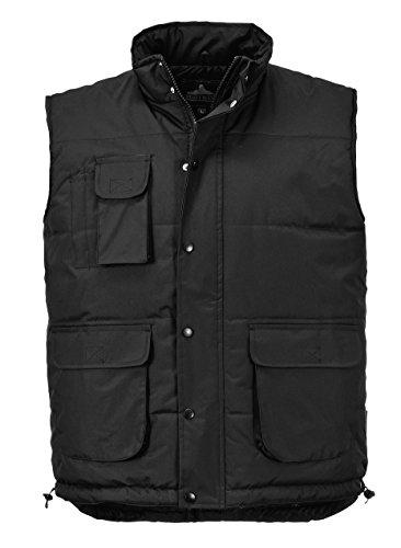 Portwest S415 - Chaleco clásico, color Negro, talla Large