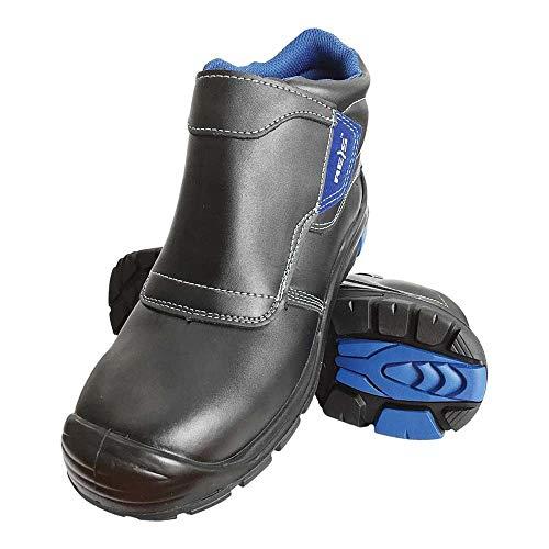 BCH-DREZNO-S3_43 Composite Power Chaussures de sécurité pour Soudeur Noir/Bleu Taille 43 EU