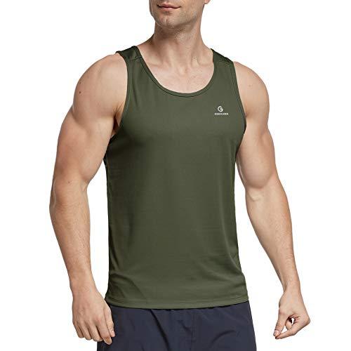 Ogeenier Uomo Canotta Sportiva Canottiera Abbigliamento da Palestra Crossfit Fitness T-Shirt Senza Maniche
