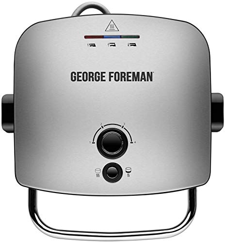 George Foreman 22160 Advanced Five Portion Grill and Melt - Silver by George Foreman