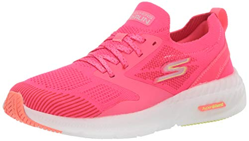 Skechers womens Sneaker, Hot Pink, 11 US