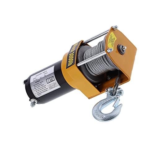 Cocoarm Electric Capstan, Electric Winch 12V 3000LB for ATV UTV