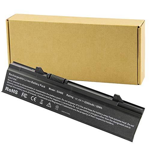 Futurebatt New Long Life Laptop Battery for Dell Latitude E5410 E5500 E5400 E5510 Series, fits P/N KM742 WU841 T749D - [Li-ion 6-Cell]