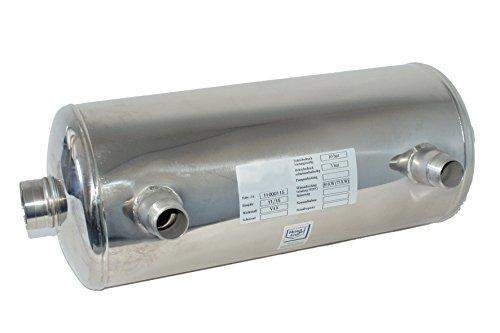 Behncke Wärmetauscher, AWT-70, poliert, 52 x 19 x 19 cm, 95001515