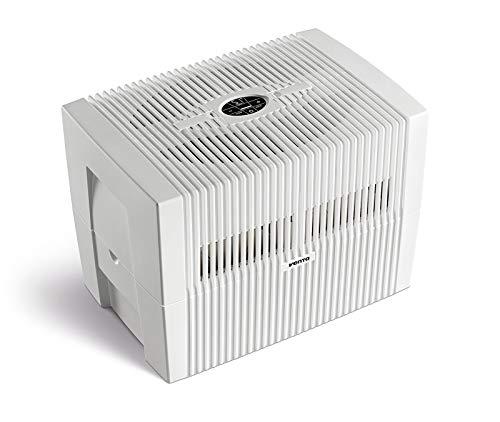 Venta LW45 COMFORTPlus Luftbefeuchter + Luftreiniger, 8 W, Brilliant Weiss, bis 60 qm