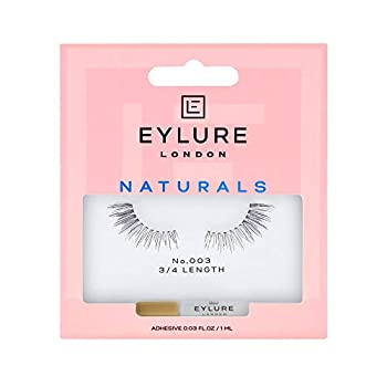 Eylure Naturals False Lashes Style No 003 Reusable Adhesive Included 1 Pair