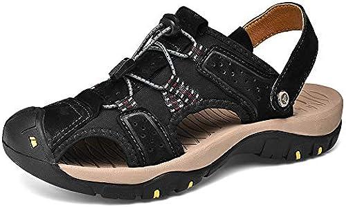 Xiaojuan-botas Bota de Trabaño de Tobillo de Moda Retro para Hombre, Sencilla y cómoda, Bota Superior clásica (Color   gris, Tamaño   41 EU)