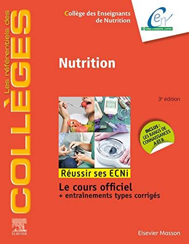 Nutrition: Réussir les ECNi