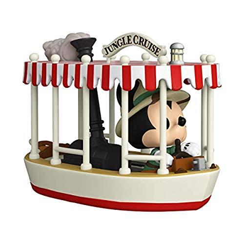 Funko 55747 POP Rides: Jungle Cruise- Skipper Mickey w/Boat