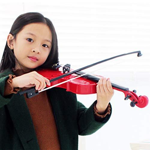 Seciie Geige für Kinder, Kinder Geige Spielzeug Violine Kinder Musikinstrument Kinder ab 3 Jahre