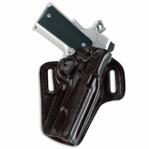 """Galco Concealable Belt Holster Colt Kimber 1911 5"""" Black RH CON212B"""