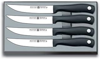 Wüsthof 9634 - Cuchillos para Carne, 4 Piezas