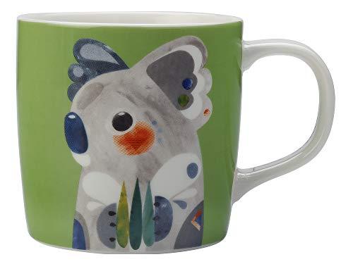Maxwell & Williams DI0216 Pete Cromer Becher Koala, aus Porzellan, Mehrfarbig, 420 ml, in Geschenkbox