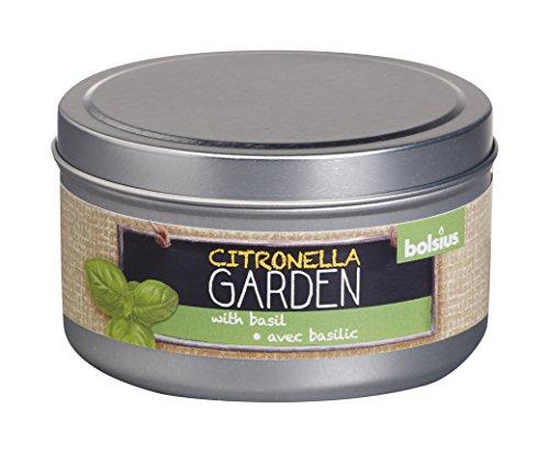 Bolsius Geurkaars Blik Citronella/Basilicum