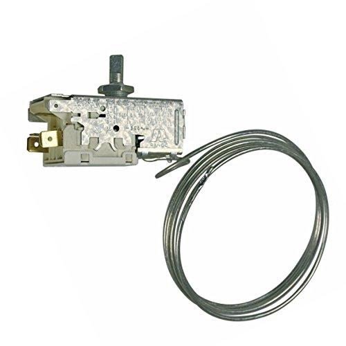 Thermostat Kühlthermostat Kühl-Gefrierkombination Gefriergerät Original Electrolux AEG 2054710013 Ranco K56-L1900 1250mm Kapillarrohr 3x6,3mm AMP passend Zanussi eu zv zvf zvc