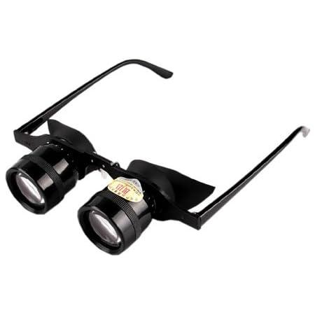 倍率 10倍 メガネ 型 双眼鏡 目幅 調整 可能