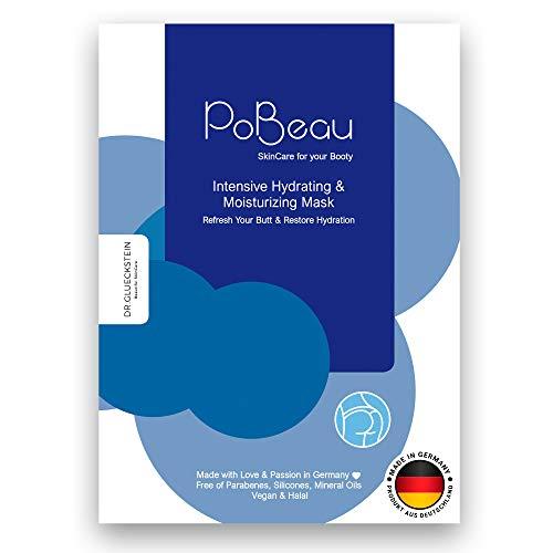 PoBeau Hydrogel Po-Maske, Anti-Aging & gegen Rötungen | 12 ml | Wirkstoff-Innovation auf der Zellebene: MossCellTec