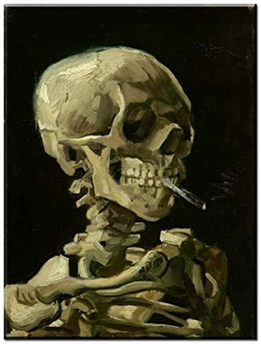 """Preisvergleich Produktbild Surfilter Print auf Leinwand Smoking Man Abstraktes Ölgemälde auf Leinwand Poster und Drucke Wandkunst für Wohnkultur 27.5& rdquo; x 39, 4""""(70x100cm) No Frame 3"""