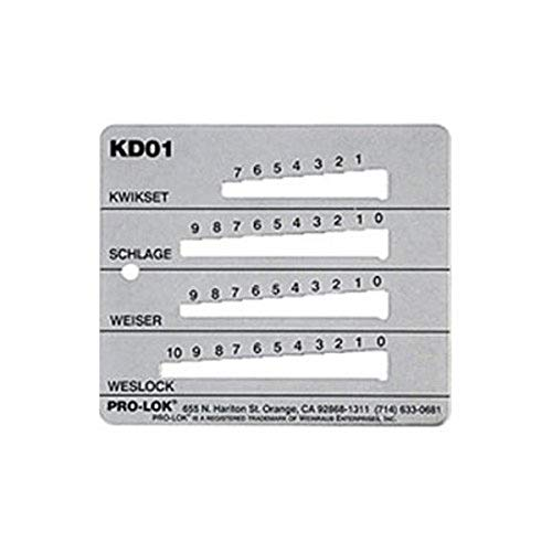 Pro-Lok KD01 KW1,SC1,WK1 & WE1 Key Decoder
