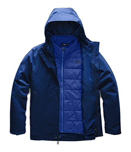 The North Face Men's Carto Triclimate Jacket, Flag Blue/TNF Blue, Small