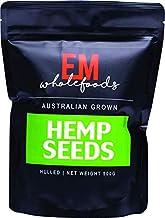 EM Wholefoods Australian Grown Hulled Hemp Seeds, 500 g