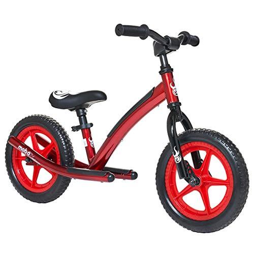 "Mobo Explorer 12"" Kids' Balance Bike - Red"