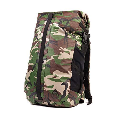 Aqua Quest Cloudbreak Sac à dos étanche – Grand sac à dos étanche 30 L Idéal pour l'extérieur, les voyages par tous les temps, camouflage, 30 L