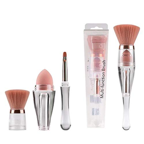 Triad Make-up borstel multifunctionele geïntegreerde haar make-up pakken professionele make-up borstels premium synthetische stichting borstel mengen gezicht poeder blozen concealers oog cosmetica make-up borstel