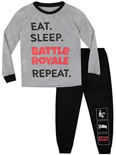 Battle Royale Boys' Gaming Pajamas Size 8 Multicolored