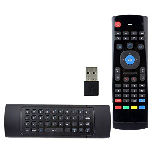 HOTSO MX3 Air Mouse 2.4GHz Wireless Keyboard For Google Android Mini PC TV Box, Smart TV, PC, HTPC, Windows, Mac OS, Linux, IPTV, HTPC, Raspberry Pi Box, Xbox 360, PS3, MAC OS, Laptop, Presentation