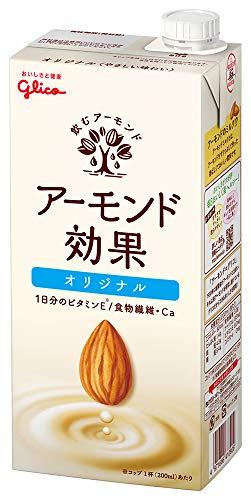 グリコ アーモンド効果 オリジナル アーモンドミルク 1000ml 常温保存可能