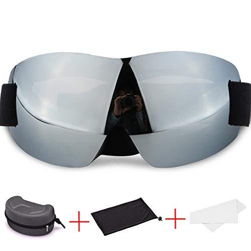 ZKAMUYLC Skibril 2019 Bril voor Mannen Buiten Snowboard Goggles Skiën Anti-mist Big Ski Mask Sport Sneeuwscooter Winter Man Mountain Ski Goggles