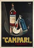 Campari, Aperitif Likeur Mailand, Poster Reproduktion,