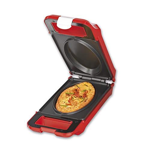 GOURMETmaxx Kontaktgrill, Multi-Grill, Sandwichtoaster,700 Watt, Nonstick, Lichtanzeige [BPA frei/Rot]