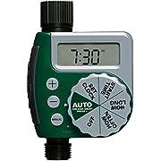 Orbit 62061Z 1-Outlet Programmable Hose Faucet Timer, Green