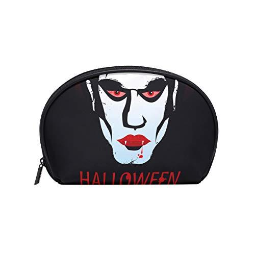 COOSUN - Bolsa maquillaje estampado vampiro