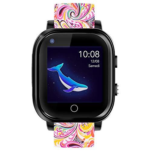 Infinite Watch – iKids Pinky – Smartwatch für Kinder – 4G – Integriertes Thermometer